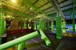 AIREA51 Indoor Trampoline Park - Ninja Assault Course