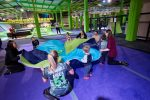 AIREA51 Trampoline Arena - Kids Party Games