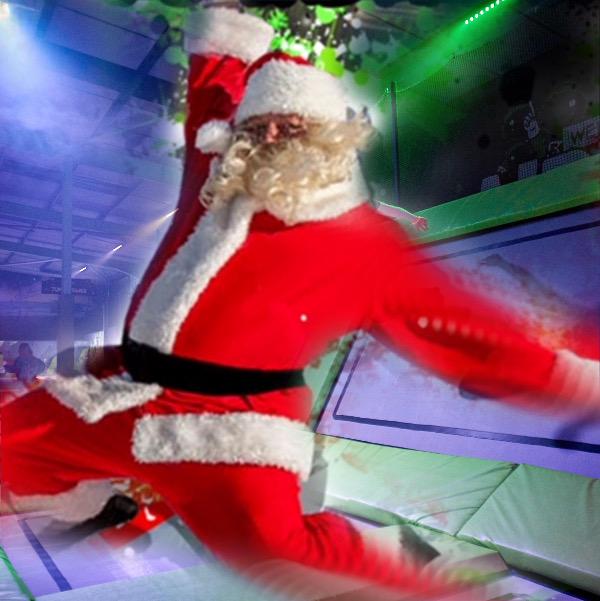 AIREA51 Christmas Santa Trampoline Party